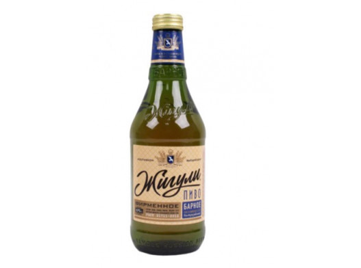 Пиво ЖИГУЛИ барное 1 литр