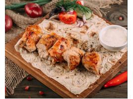 Шашлык из куриной грудки (200 гр)