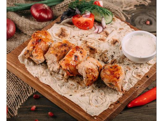 Шашлык из куриной грудки (200г)
