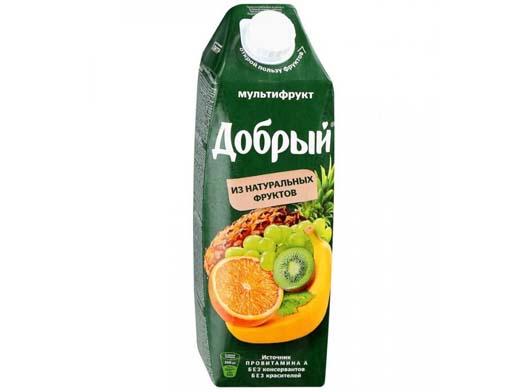 Сок Добрый Мультифрукт 1 л