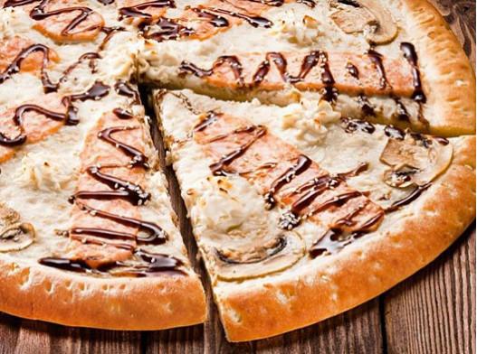 Пицца Сливочный Лосось