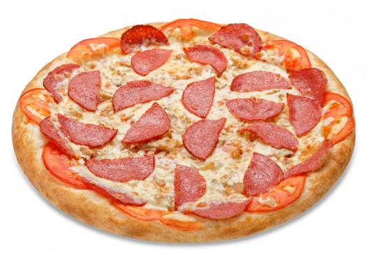 Пицца АССОРТИ С КОЛБАСОЙ