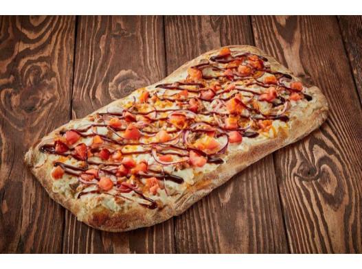 Римская пицца «Лосось терияки»